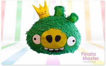 Пиньята Angry Birds Свин