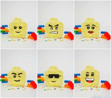 Пиньята Лего Голова